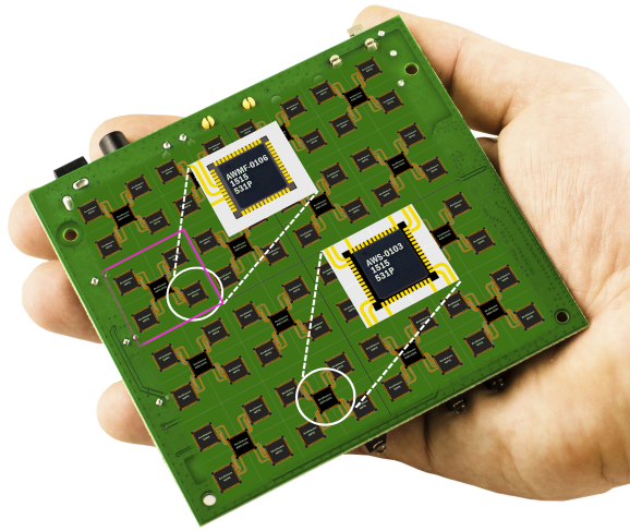 Highly Integrated Silicon ASIC: Enabling Planar AESAs
