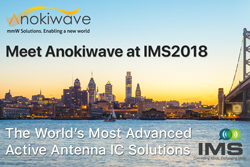 Meet Anokiwave at IMS2018